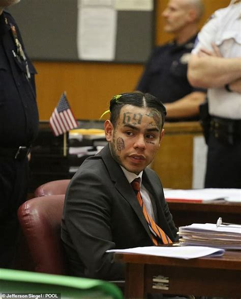 6ix9ine verdict tekashi 6ix9ine sentenced to probation in child sex case
