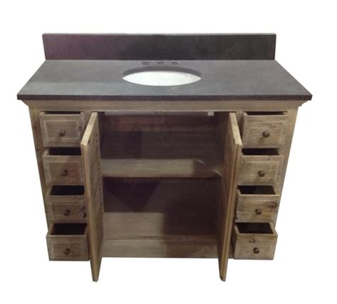 single vanity top legion 48 inch rustic single bathroom vanity wk1948