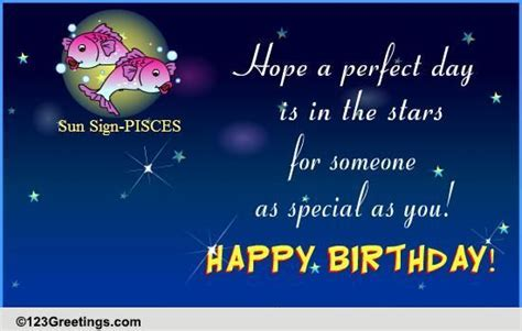 Happy Birthday Pisces! Free Zodiac eCards, Greeting Cards