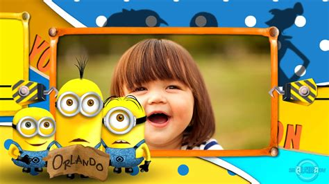 template proshow producer minions proshow producer template project projeto миньоны