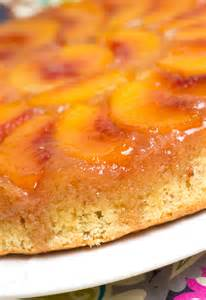 peach upside down cake recipe dishmaps