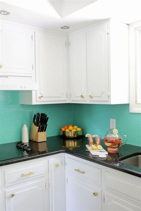 older and wisor painting a tile backsplash and more easy 6 ways to redo a backsplash right over the old one
