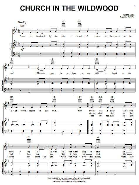 church in the wildwood sheet music