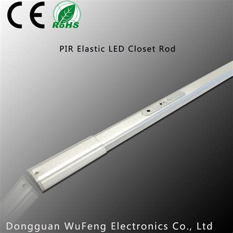 Led Elastis elastic fir different size wardrobe led closet rod purchasing souring ecvv