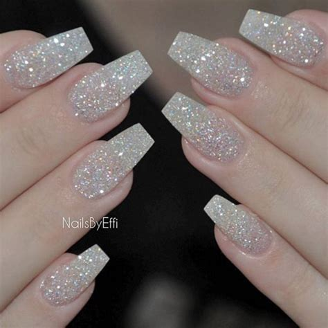 Glitter Nail 25 best ideas about acrylic nails glitter on