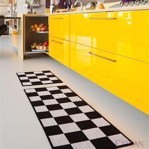 tapete xadrez felpudo tapetes para cozinha saiba como usar
