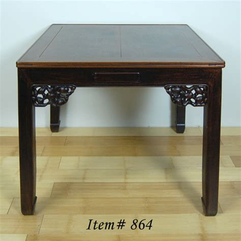 Japanese Dining Table Ebay Antique Mah Jong Dining Table Asian W Drawers Ebay