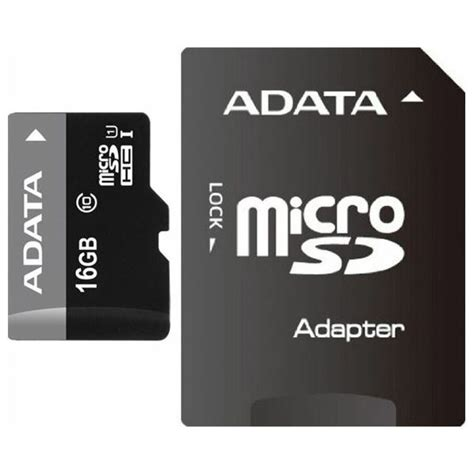 Micro Sd Adata 16gb Class 10 memorijska kartica adata sd micro 16gb hc class 10