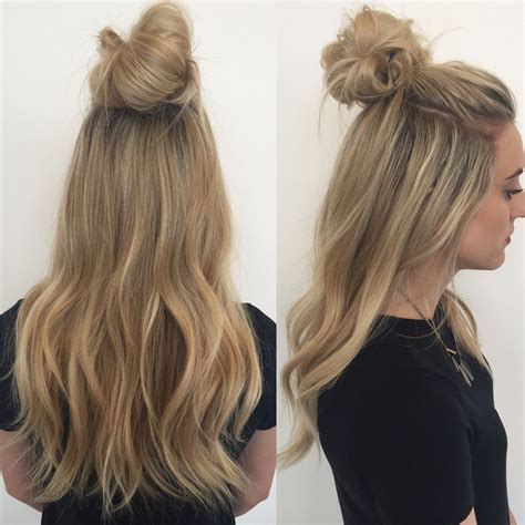 Top Knot Extensions// Hair Extensions// Hairstylist