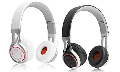 Headphone Jabra Revo Corded Wired Headphone Grey jabra revo corded headset refurbished groupon