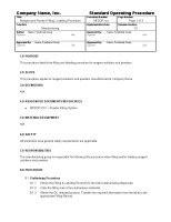 Gmp Documents Home Gmpdocs Com Batch Record Review Checklist Template