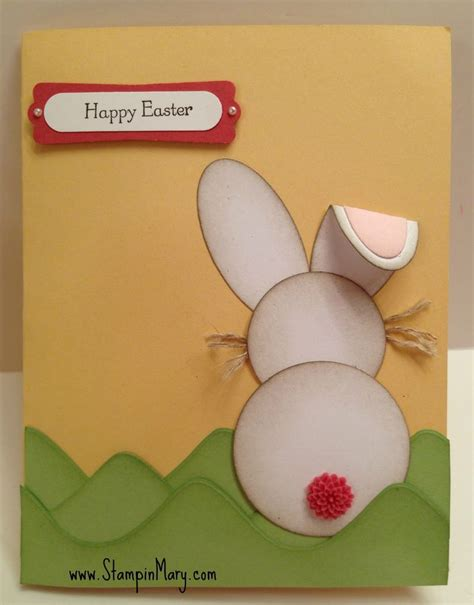 Pre Punched Craft Paper - 25 best ideas about easter card on happy