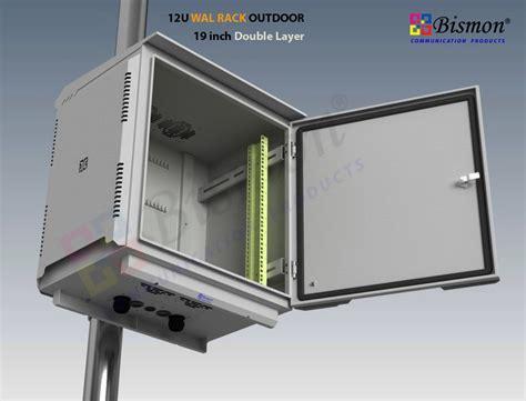 Rack Outdoor by 19 Quot Wall Rack 12u Outdoor Fiber Optic 50cm Layer