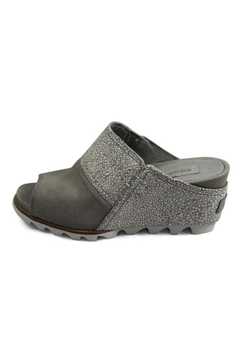 grey sandal wedges sorel grey wedge sandal from columbia by big boot