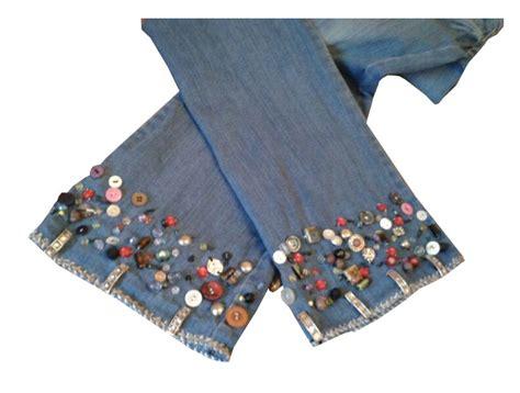 decorar jeans con botones vaqueros con botones personalizado por rudi moda