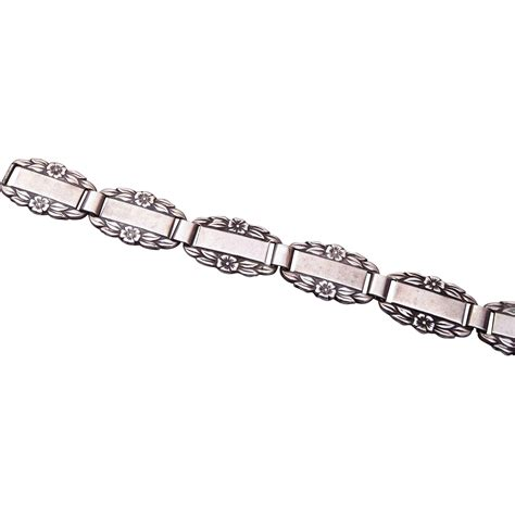 sterling forget me not bracelet from wrightglitz on ruby