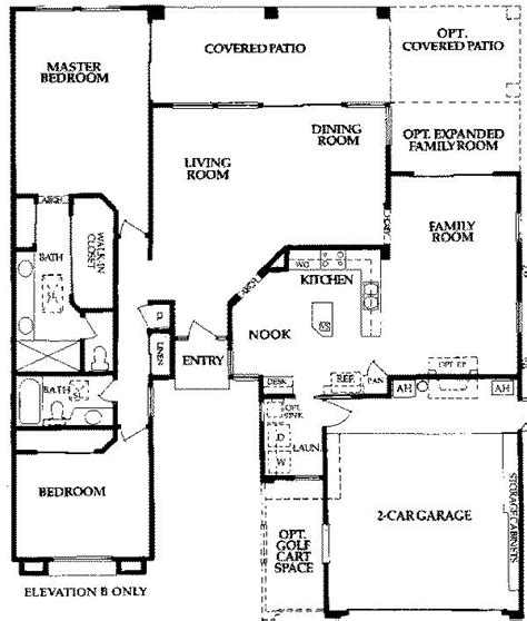 sun lakes floor plans coronado1850 sun lakes az floor plans homes pinterest