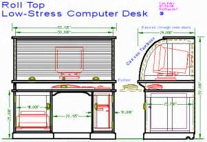 Roll Top Computer Desk Plans Woodwork Roll Top Desk Parts Pdf Plans