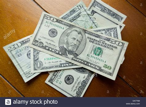Money On A Table by American Money On Table Stock Photo Royalty Free Image 57936976 Alamy