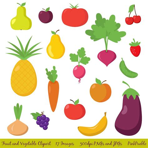 fruits and vegetables clipart fruit and vegetable clipart clip fruit clipart clip