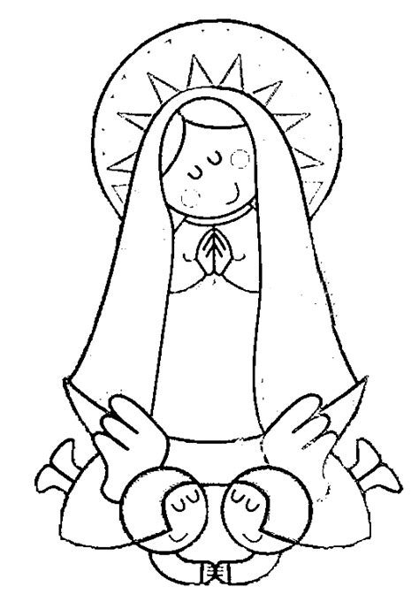 imagenes para dibujar a la virgen de guadalupe dibujos infantiles de la v 237 rgen de guadalupe para colorear
