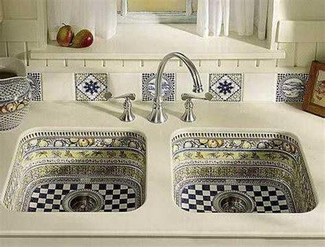 Decorative Kitchen Sinks Modern Kitchen Sinks Adding Decorative Accents To Functional Kitchen Design