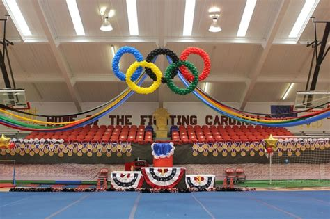 Olympic Decorations by Pep Rally Idea Sga Rally Awesome