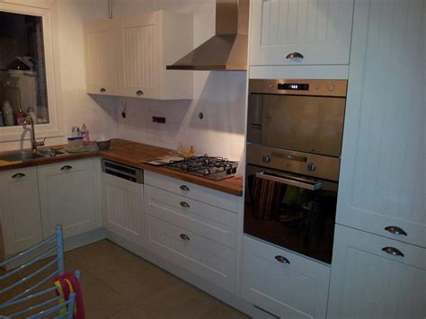 cr馘ence cuisine autocollante peindre carrelage credence cuisine maison design bahbe com