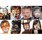 8 Maquillajes De Animales Para Disfraces Infantiles