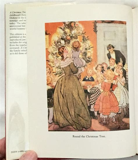 a christmas tree by charles dickens pictured in colour