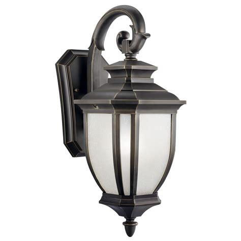 Outdoor Lighting Kichler Kichler 19 Inch Outdoor Wall Light 9040rz Destination Lighting