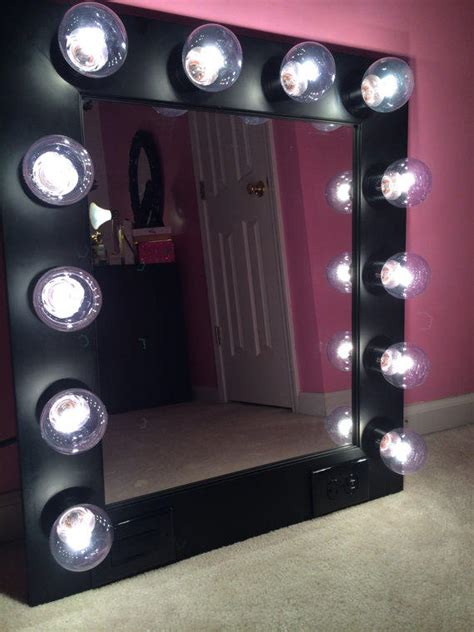 Vanity Mirror With Built In Lights free shipping vanity mirror with from customvanity etsy