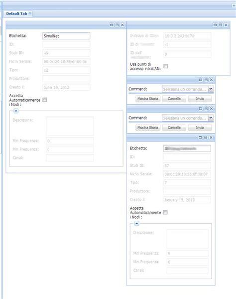 js panel layout javascript extjs column layout move resizable panels