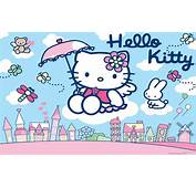 Blue And Pink Hello Kitty Wallpaper  1920x1200 Image Id