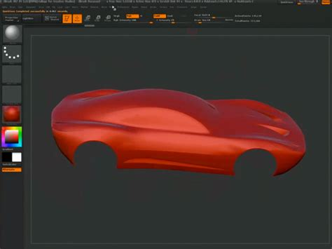 zbrush tutorial car car design process using maya and zbrush part 2 car