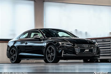 Audi S5 V6 Tuning by The Abt Audi S5 Middle Class Car Top Class Performance