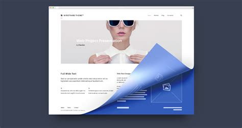 Psd Web Project Presentation Psd Web Elements Pixeden Website Presentation Psd