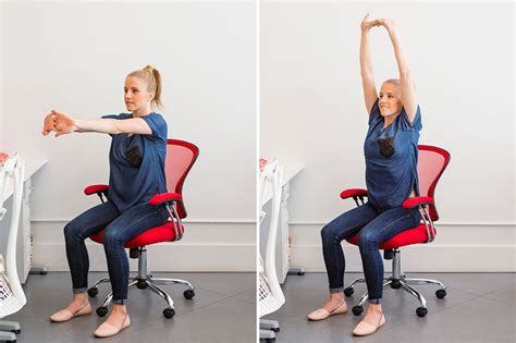 deskercise 9 easy stretches you can do at your desk