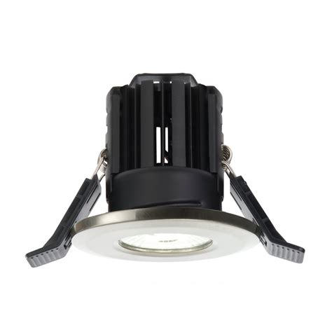 Saxby Bathroom Lighting 52728 Shieldled Bathroom Recessed Light Fixed