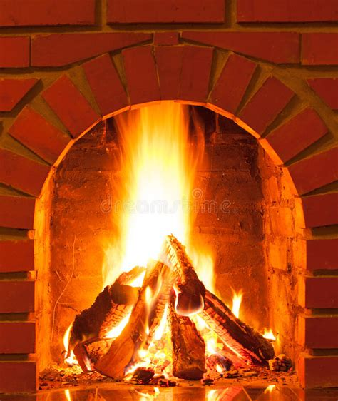 close up fireplace burning fire stock photo image 36154710