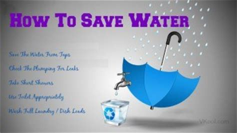 12 tips on how to save water at home