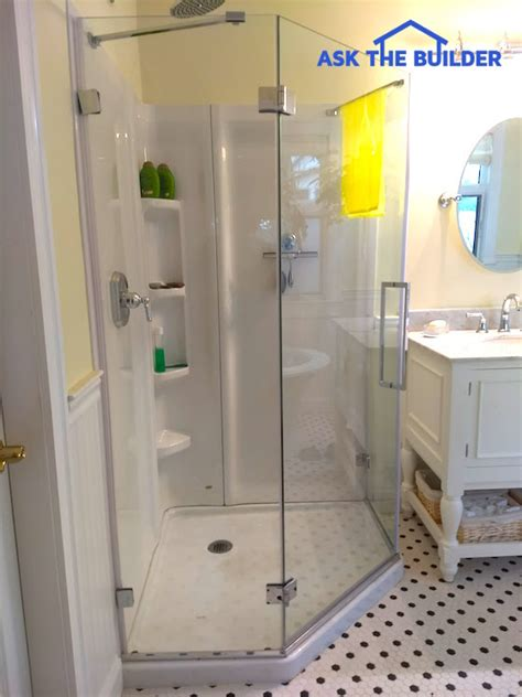 glass wall panels bathroom glass shower wall panels are sleek smooth ask the builder