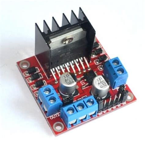 Kr09037 Doubleshoot L298n Motor Driver 2a 5v 35v Dc tutorial l298n dual motor controller module 2a and arduino tronixlabs australia