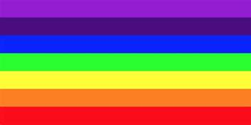 is rainbow a color vibgyor rainbow color codes 187 webnots