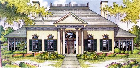 Southern Plantation Home Plans Southern Plantation 55035br Architectural Designs House Plans