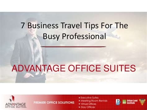 7 Tips On Using For Business by 7 Business Travel Tips For The Busy Professional