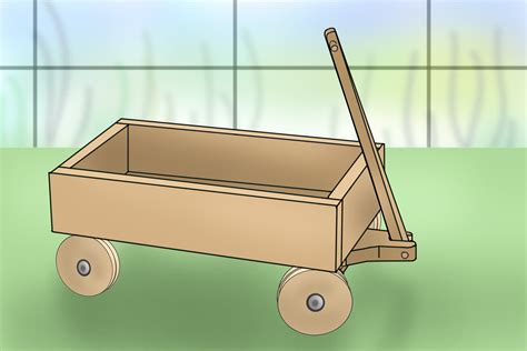 How To Make A Paper Wagon - 6 ways to build your own kid s wagon wikihow