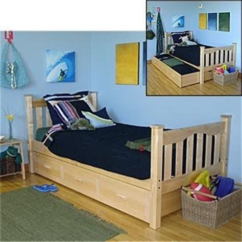 trundle bed amazon amazon com gabriel twin trundle bed home kitchen
