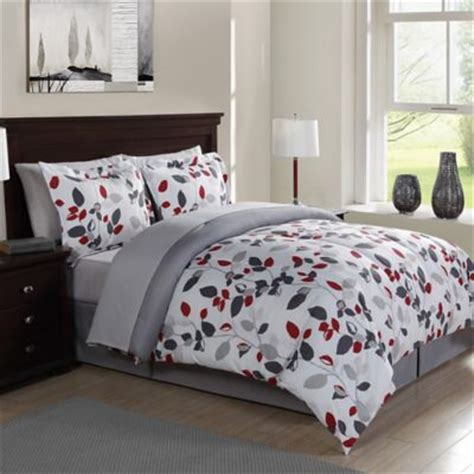 queen comforter sets bed bath beyond buy modern branch 7 piece queen comforter set in grey from
