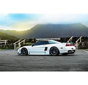 Honda Nsx Car Tuning White HD Wallpaper